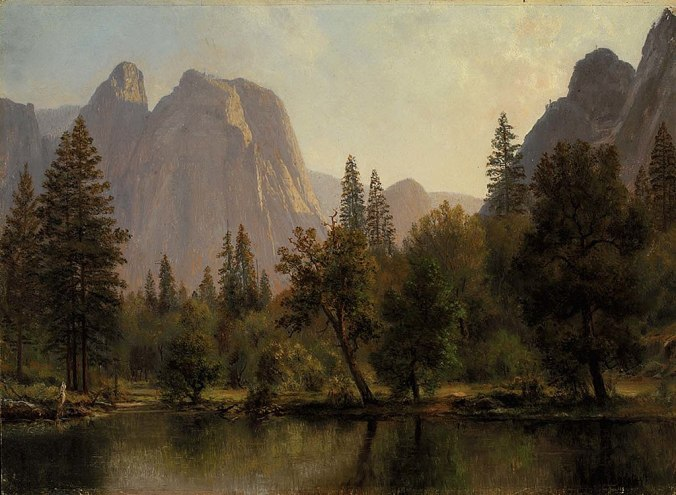 1024px-Albert_Bierstadt_-_Cathedral_Rocks,_Yosemite_Valley