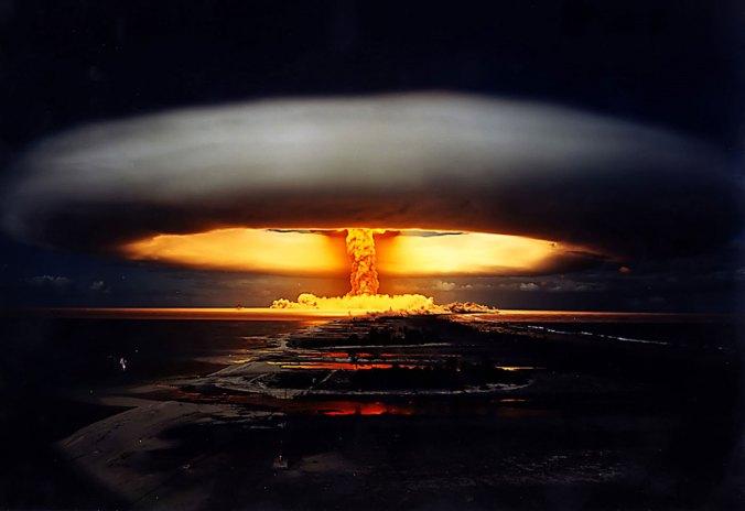 Licorne nuclear test 1970